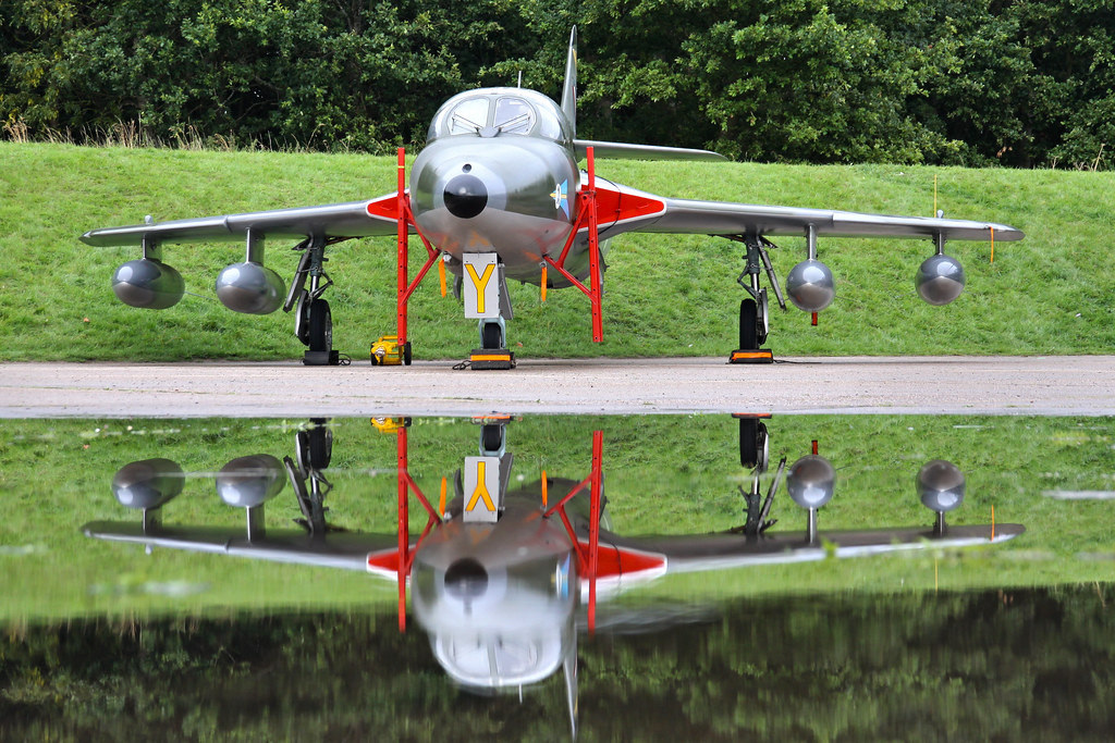 UK Airshow Review Forums • A moment of reflection, The Hunter T7