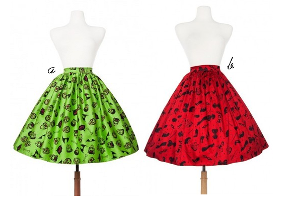 pinup girl clothing deadly dames skirts