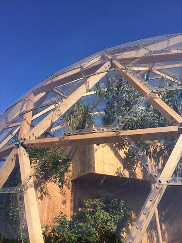 Copenhagen Dome of Visions plants garden climate