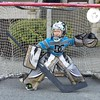 Hockey on the ice in the morning, then, #hockey in the streets all afternoon #My Little Man going for the #habs one day