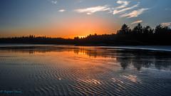 Sunset at Longbeach BC