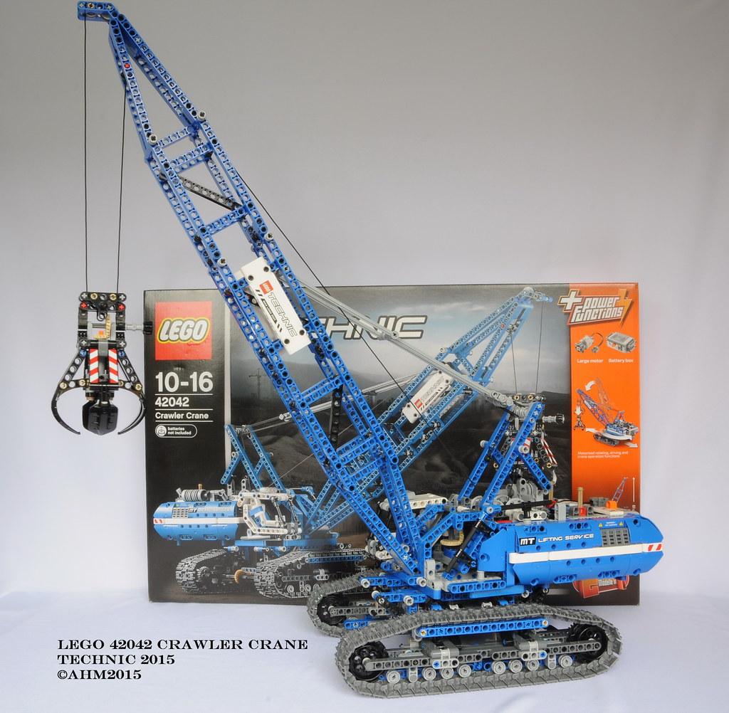 All Sizes Lego Technic 42042 Crawler Crane Flickr Photo Sharing