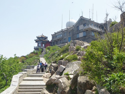 CH-Mont Taishan-Sommet 3-Qingdi Palace (4)