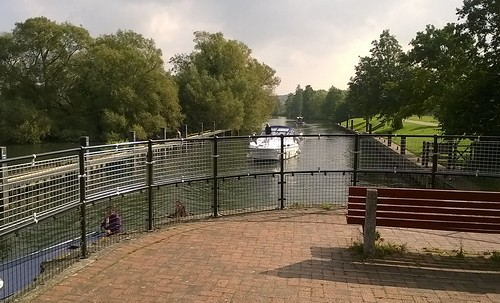 Approaching the lock.....