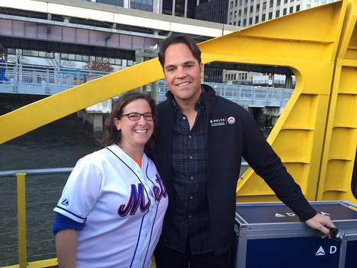 Me with Mike Piazza