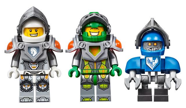 LEGO Nexo Knights - Minifigs