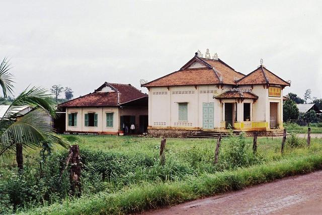 AN LỘC 1967-68 by John Beck - Chùa Từ Quang, đường Ngô Quyền. Đã bị phá hủy trong trận chiến An Lộc 1972