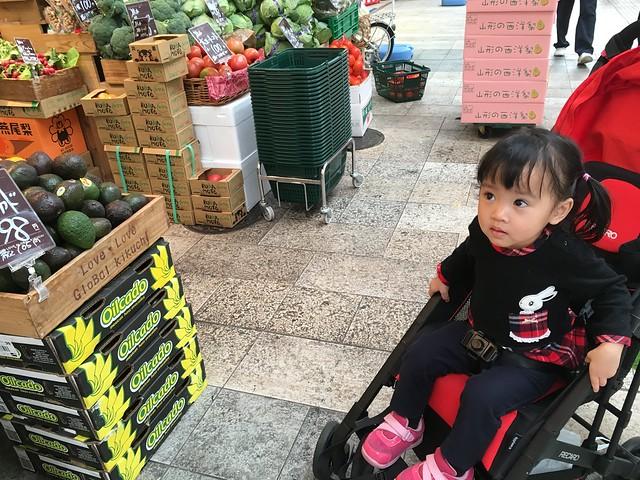 在熊本的商店街通町筋逛逛