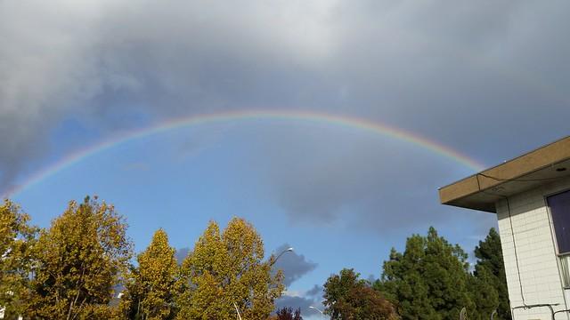 Rainbow over Fremont