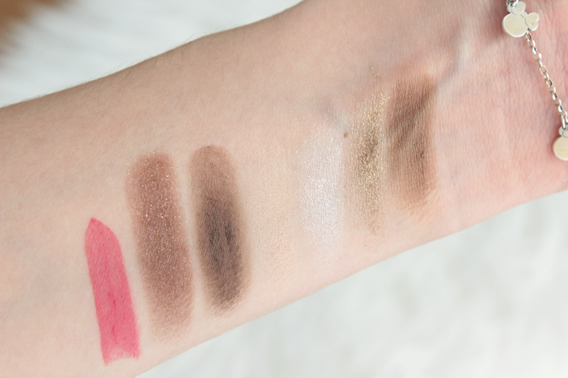 Givenchy Christmas  Les Nuances Glacées Swatches
