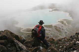 Peru Hiking To Lagoon