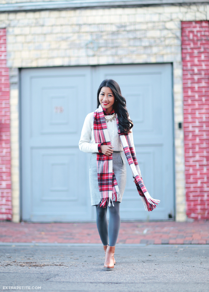 talbots petites holiday winter outfit