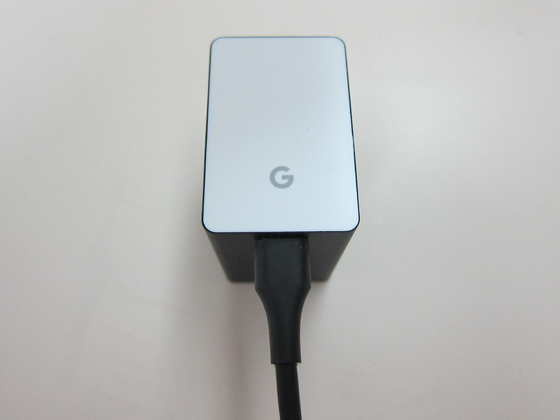 Google Universal 22.5W Dual Port USB Type-C Charger - Plugged-In