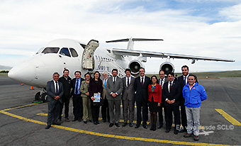 Aerovías DAP inauguración ruta PUQ-BBA (RD)
