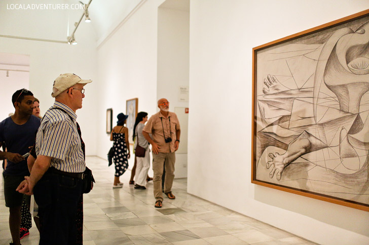 Museo Reina Sofia (+ 21 Remarkable Things to Do in Madrid Spain).