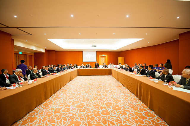 JY85 Asean Meeting & Clans Seminar @ RWS on 31.10.2015 before & after Buffet Lunch