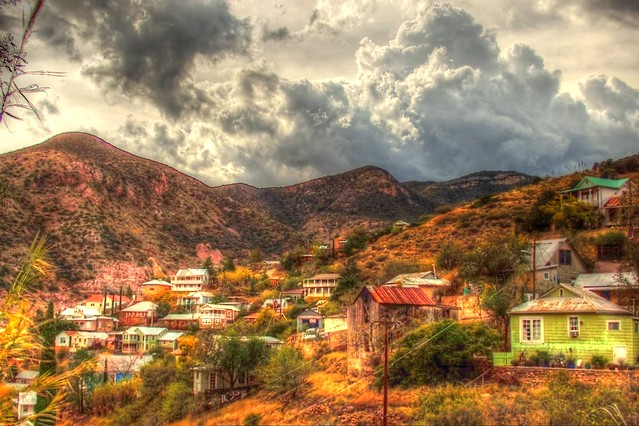 Old Bisbee from Youngblood Hill