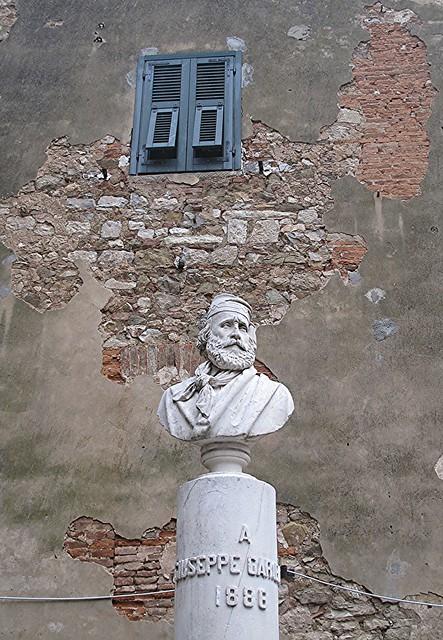 E Garibaldi fu anche qui.
