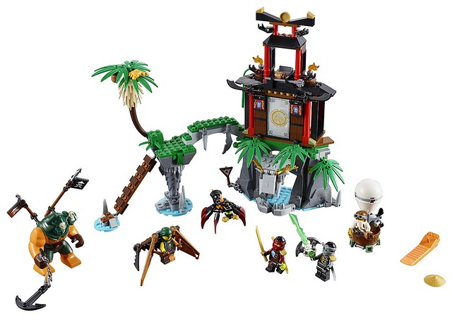 LEGO Ninjago 70604 - Tiger Widow Island