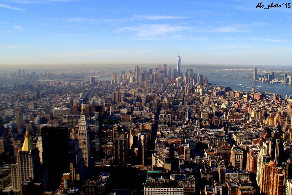 Vistas de la zona sur de Manhattan