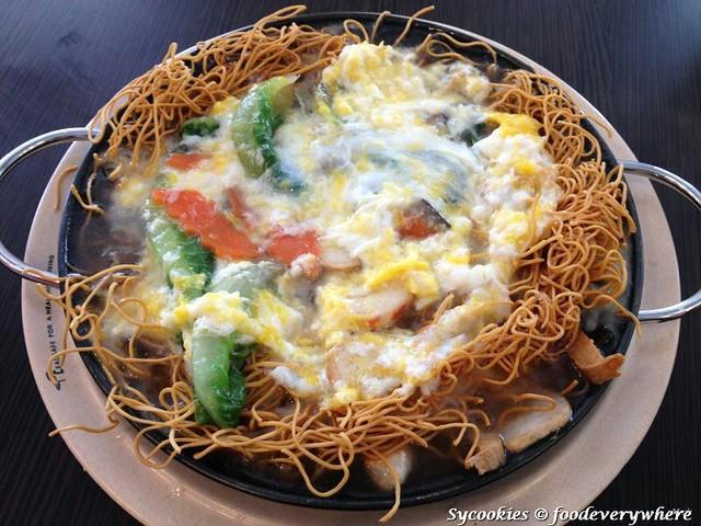 4.utopia veggie cuisine sunway vegetarian veg. seafood mee suah RM 7.50