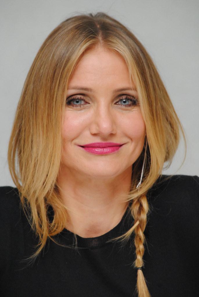 Камерон Диас — Пресс-конференция «Энни» 2014 – 44