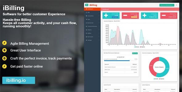 CodeCanyon iBilling v3.6.0 - Accounting and Billing Software