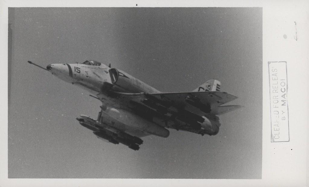 A-4E Skyhawk, VMA-211, 2 July 1967