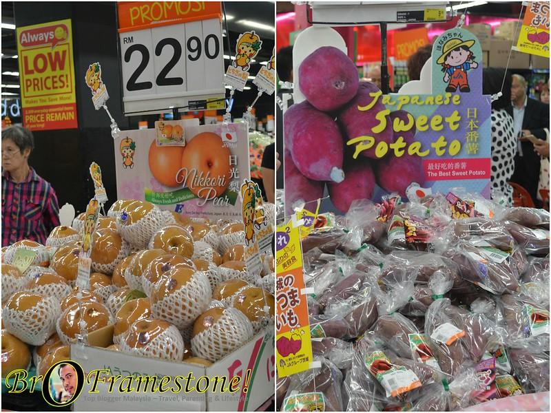 Majlis Pelancaran Nikkori Pear &  Ibaraki Japanese Sweet Potatoes di AEON BIG Mid Valley
