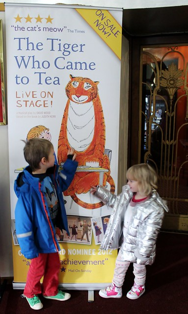 the tiger who came to tea live on stage