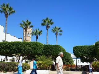 Imageof Grande Mosquée. people tunisia 2014 diakopes mahdia panasonicdmctz20