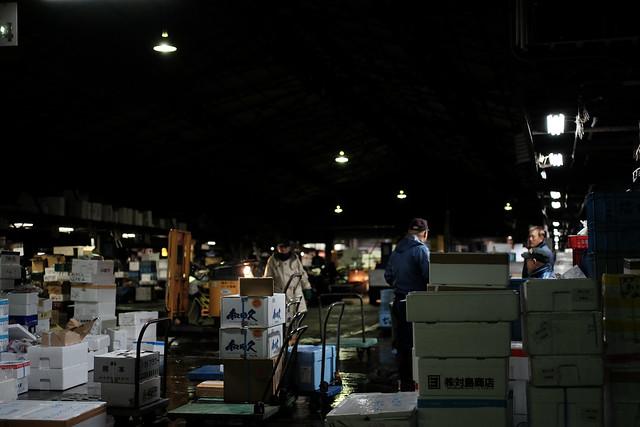 築地市場(Tsukiji market)