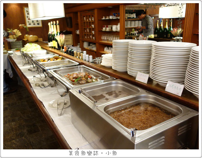 【台北大安】 廊香歐風創意料理 Les Champs/午餐免費沙拉自助吧 @魚樂分享誌