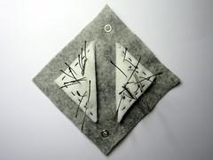 E-Textile sensor wall tile prototypes