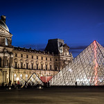 Louvre by night - Paris