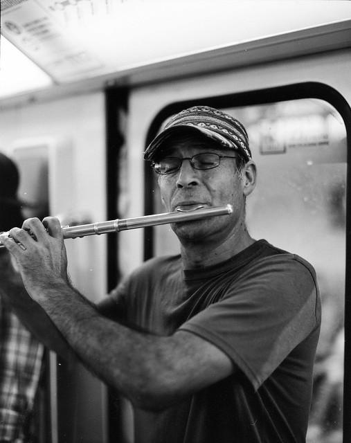El músico del metro