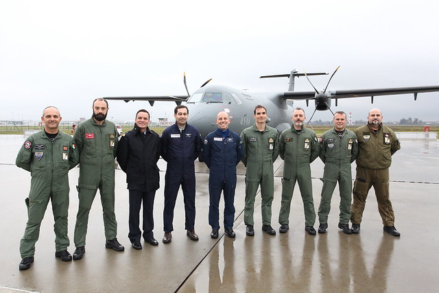 Delivery to the Italian Air Force of two ATR P72A