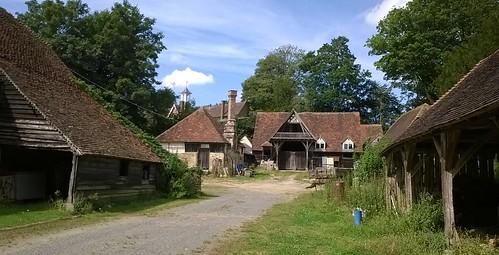 Ye olde Kent farm village