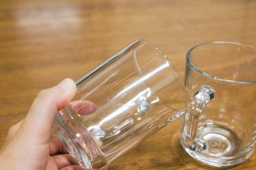 セリアの耐熱グラス