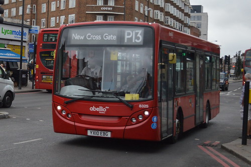 Abellio London 8325 on route P13 at Streatham Hill