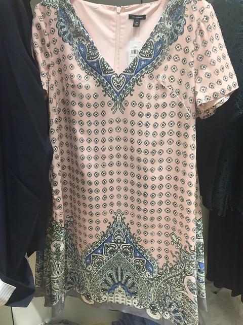 Ann Taylor Paisley Shift Dress