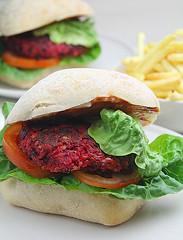 Super Veggie Beetroot Burgers