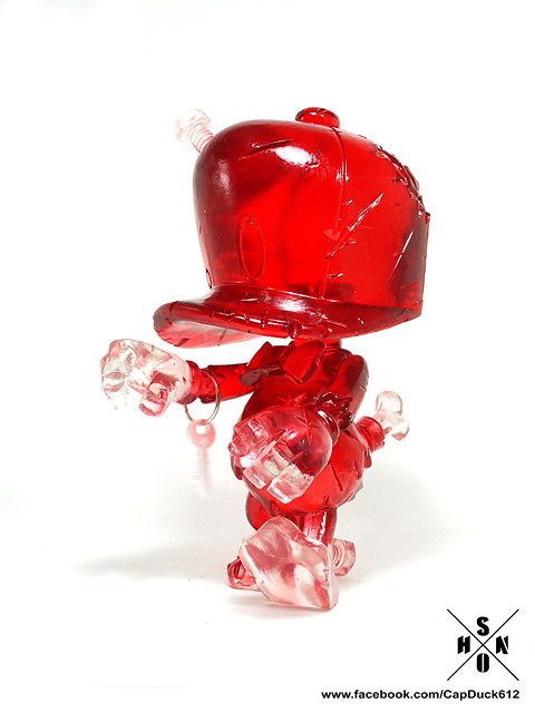 SHON SIDE – CAP DUCK 系列【透明紅。喪屍鴨】STGCC 限定版 Zombie Red Cap
