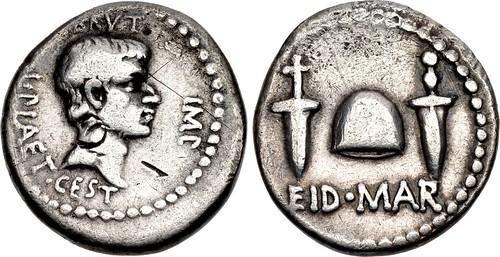 Lot 1823 Brutus Eid Mar Denarius