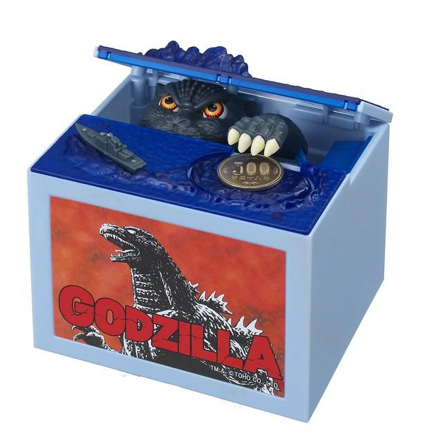 就讓怪獸王為你存錢!收錄原版音效的『哥吉拉』存錢筒~