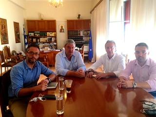 Σύσκεψη Περιφερειάρχη, Δημάρχου Ιωαννίνων και Προέδρου Ε.Δ. ΠΕΑΚΙ  για τις αθλητικές εγκαταστάσεις αρμοδιότητας Γ.Γ.Α.