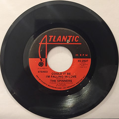 THE SPINNERS:COULD IT BE I'M FALLING IN LOVE(RECORD SIDE-A)