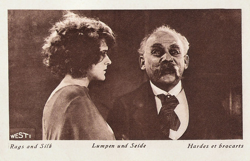 Mary Kid and Ferdinand Bonn in Lumpen und Seide (1925)