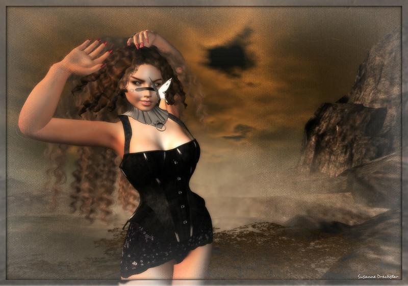 LuLu - MelleFifi BlackSuede @ Totally Top Shelf