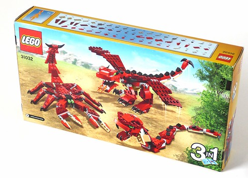 LEGO Creator 31032 Red Creatures box02